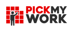 Pick My Work Logo